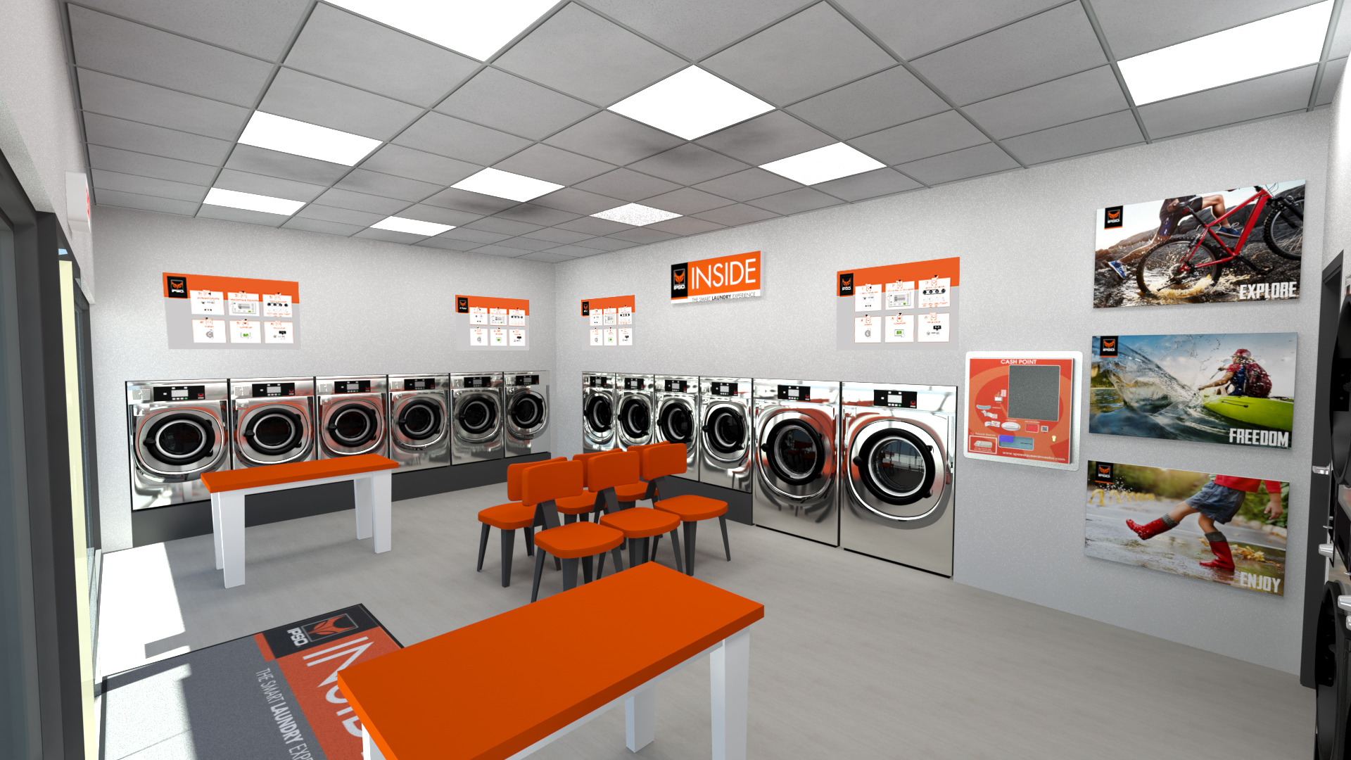 pralnia samoobsługowa